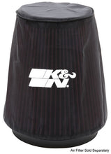 Load image into Gallery viewer, K&N Universal P Dry charger Round Tapered Air Filter Wrap Black