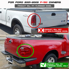 Load image into Gallery viewer, Spyder Ford F150 Flareside 01-03 (Not Fit Supercrew)Euro Style Tail Lights Black ALT-YD-FF15001FS-BK