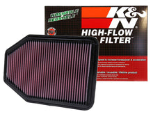 Load image into Gallery viewer, K&N 07-10 Jeep Wrangler 3.8L V6 Drop In Air Filter