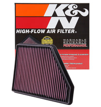 Load image into Gallery viewer, K&N 10 Chevy Camaro 3.6/6.2L Drop In Air Filter