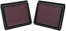 Load image into Gallery viewer, K&N Replacement Air Filter INFINITI M35 3.5L V6; 09-10 (2 PER BOX)