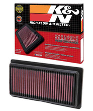 Load image into Gallery viewer, K&N Replacement Panel Air Filter 12-14 Nissan Versa 1.6L 1.031in H x 9.125in OS L x 4in OS W