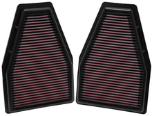 Load image into Gallery viewer, K&N Replacement Air Filter 12-13 Porsche 911 3.4L / 12 911 3.8L / 13 911 3.6L / 13 911 Carrera 3.8L
