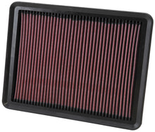 Load image into Gallery viewer, K&N Replacement Air Filter 11.75in O/S Length x 9in O/S Width x 1.188in H for 13 Hyundai Santa Fe