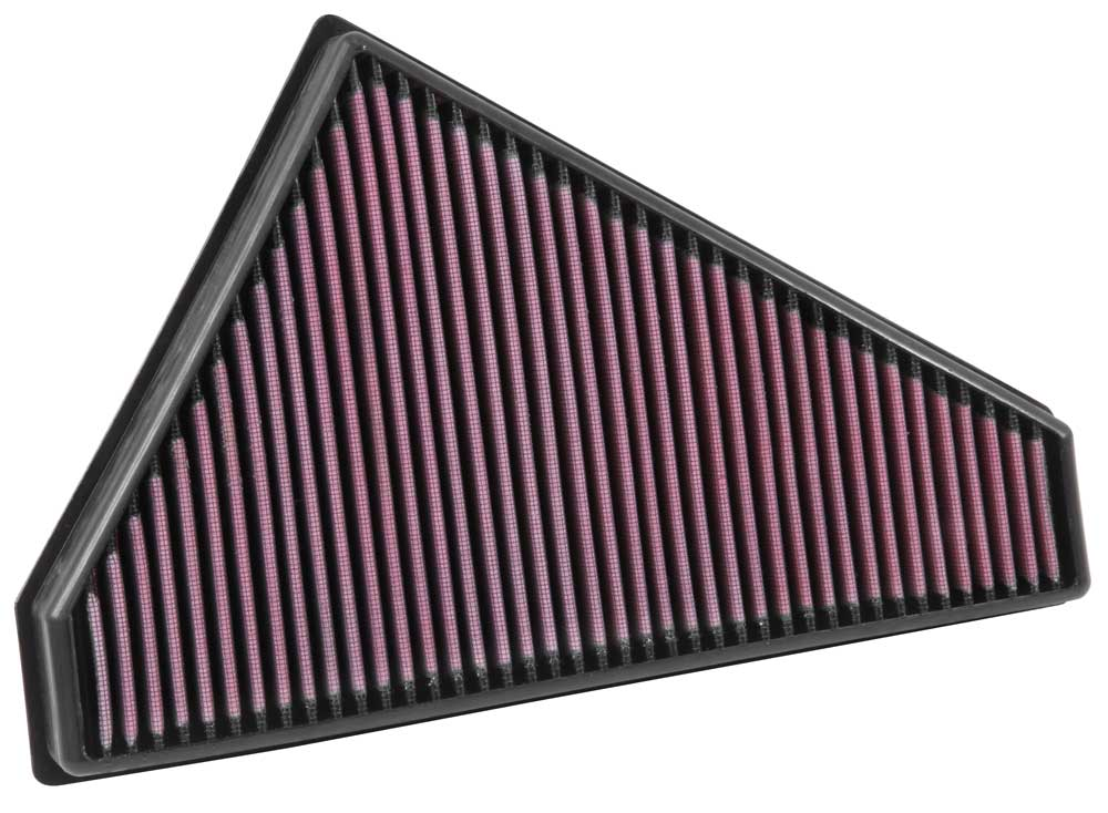 K&N Replacement Panel Air Filter (Right Side) 2014-2015 Jaguar F-Type 3.0L/5.0L