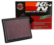 Load image into Gallery viewer, K&N 14-17 Opel Vivaro B L4-1.6L DSL Replacement Drop In Air Filter