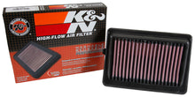 Load image into Gallery viewer, K&N 16-17 Suzuki Baleno II L3-1.0L F/I Replacement Drop In Air Filter