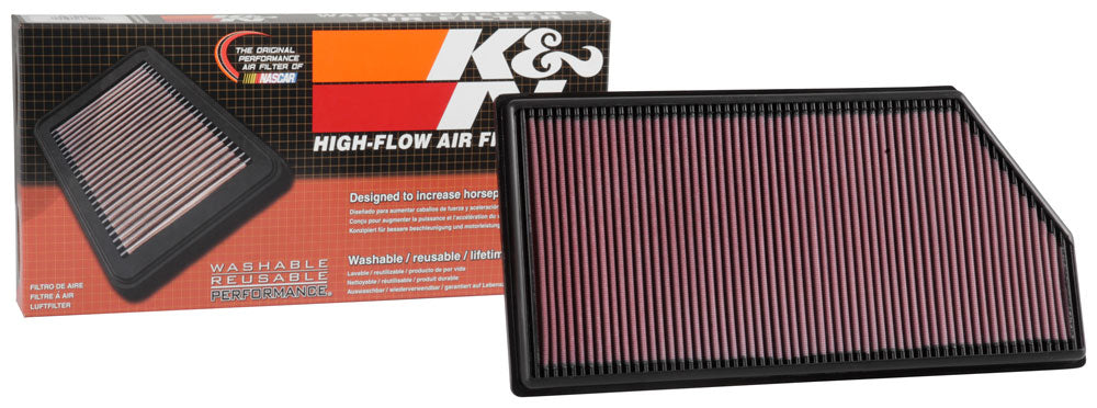 K&N 16-18 Mercedes Benz E200d L4-2.0L Diesel Drop In Air Filter