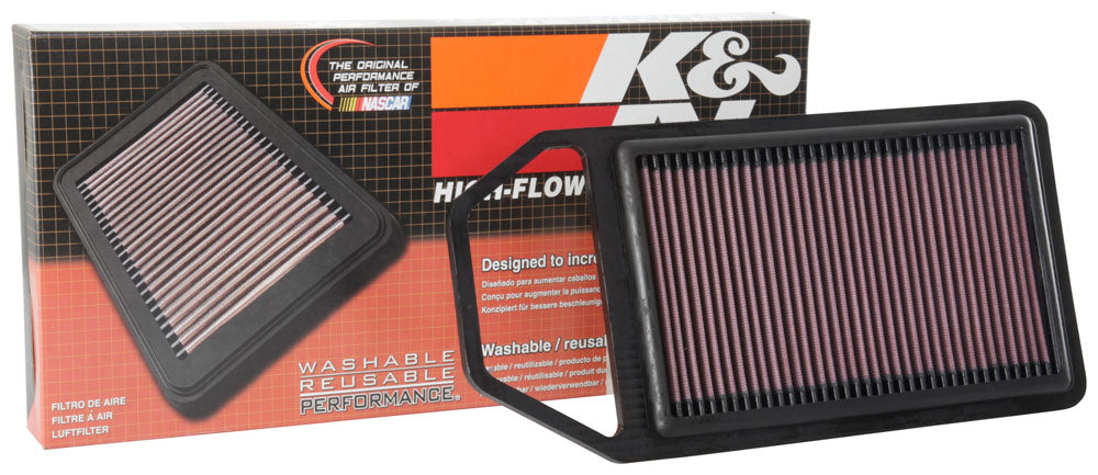 K&N 15-18 Suzuki Baleno L4-1.2L F/I Replacement Drop In Air Filter