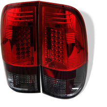 Load image into Gallery viewer, Spyder Ford F150 side 97-03/F250/350 Super Duty 99-07 LED Tail Lights Red Smke ALT-YD-FF15097-LED-RS