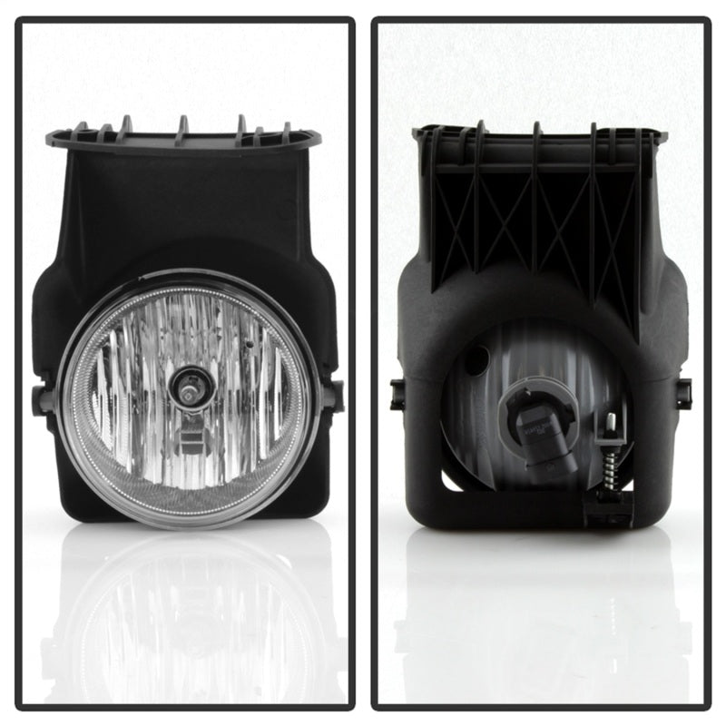 Spyder GMC Sierra 1500/2500 03-06/Sierra 1500HD/2500HD 03-06 OEM Fog Lightswo/switch Clear FL-GS03-C