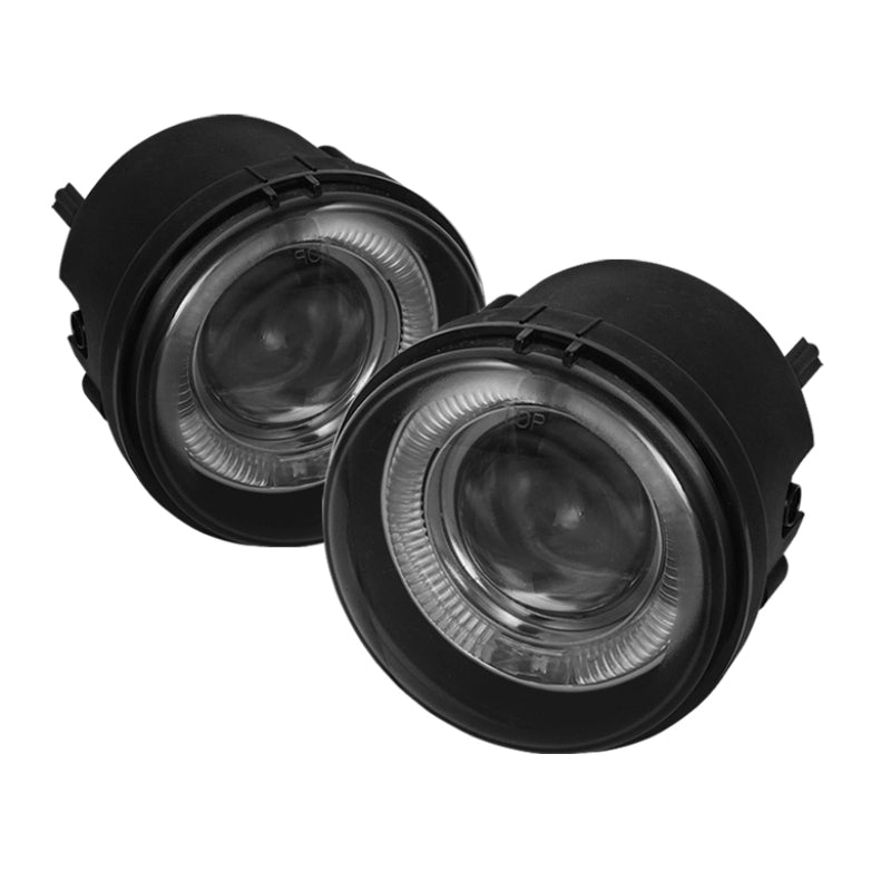 Spyder Dodge Charger 06-10/Caravan 05-07Halo Projector Fog Lights w/swch Clear FL-P-DCH05-HL