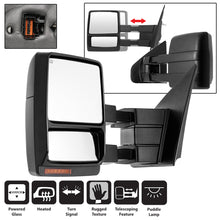 Load image into Gallery viewer, Xtune Ford F150 07-14 Power Heated Amber LED Signal Telescoping Mirror Left MIR-FF15007S-PWH-AM-L
