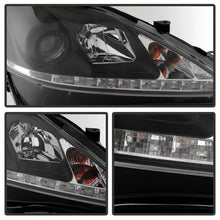 Load image into Gallery viewer, Spyder Lexus IS 250/350 2006-2010 Projector Headlights DRL Black PRO-YD-LIS06-DRL-BK