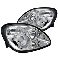 Load image into Gallery viewer, Spyder Mercedes Benz SLK 98-04 Projector Halogen Model- LED Halo Chrm PRO-YD-MBSLK98-1PC-HL-C