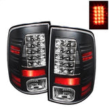 Spyder Dodge Ram 1500 09-14 10-14 LED Tail Lights Incandescent only - Blk ALT-YD-DRAM09-LED-BK
