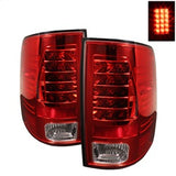 Spyder Dodge Ram 1500 09-14 LED Tail Lights Incandescen- Red Clear ALT-YD-DRAM09-LED-RC