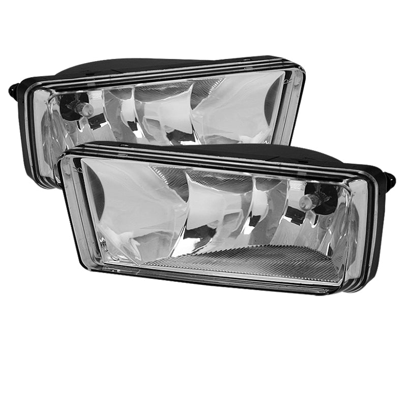 Spyder Chevy Silverado 07-13/Avalanche/Suburban OEM Fog Lights wo/switch Clear FL-CSIL07-C