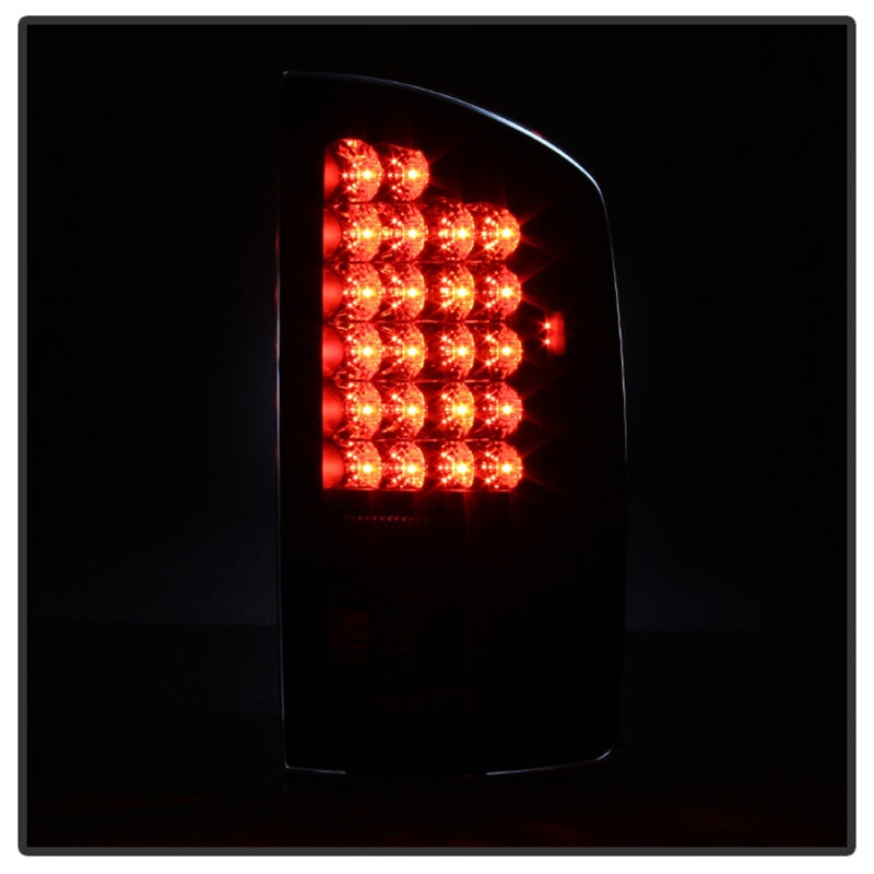 Spyder Dodge Ram 02-06 1500/Ram 2500/3500 03-06 LED Tail Light Black ALT-YD-DRAM02-LED-BK