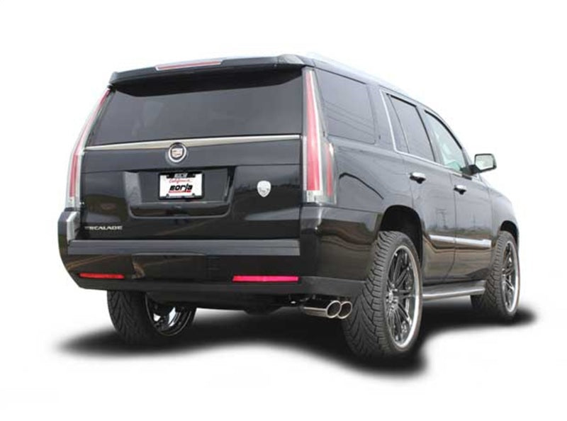 Borla 2015 Cadillac Escalade/Yukon Denali 6.2L V8 AT 2WD/4WD Split Side Exit SS S-Type CB Exhaust
