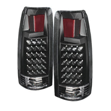 Load image into Gallery viewer, Xtune Yukon Denali 99-00 LED Tail Lights Black ALT-JH-CCK88-LED-BK