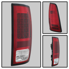 Load image into Gallery viewer, Spyder Dodge Ram 1500 13-14 13-14 LED Tail Lights LED Model only - Red Clear ALT-YD-DRAM13-LED-RC