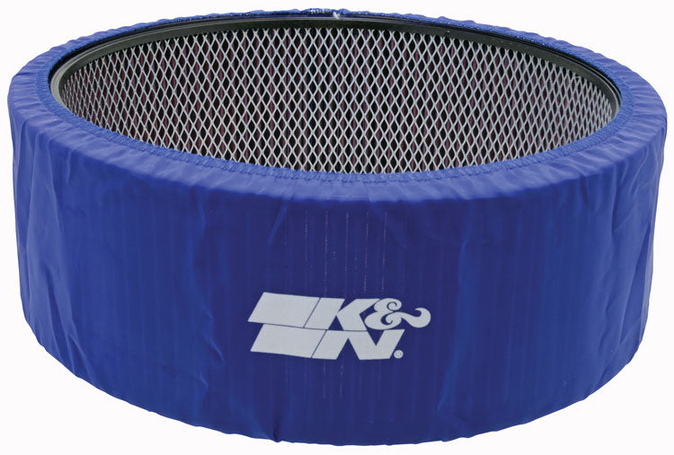 K&N PreCharger Custom Blue Air Filter Wrap