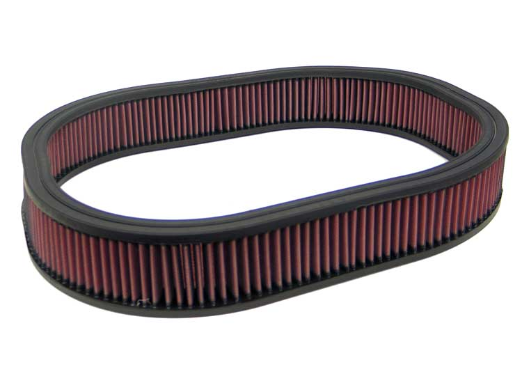 K&N 19-3/4in by 15-3/4in by 3in Height Oval Air Filter