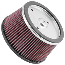 Load image into Gallery viewer, K&N Universal Custom Air Filter - Round 6.25in Base OD 5.531in Top OD 3.25in Height