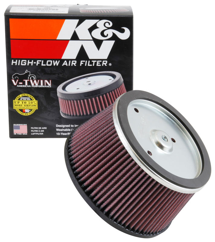 K&N Universal Custom Air Filter - Round 6.25in Base OD 5.531in Top OD 3.25in Height