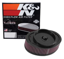 Load image into Gallery viewer, K&N Universal Custom Air Filter - Oval Shape 8.75in OD / 7.688in ID / 3.375 Height