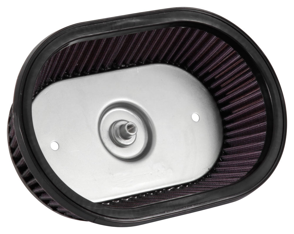 K&N Universal Custom Air Filter - Oval Shape 9.313in OD / 2.375 Height