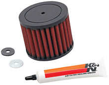 Load image into Gallery viewer, K&N Replacement Industrial Air Filter Round 1.625in ID / 3.625in OD / 2.875in H for Honda