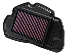 Load image into Gallery viewer, K&N 2010-12 Honda PCX125 125 11.063in L x 6.875in W x 1.125in H Replacement Panel Air Filter