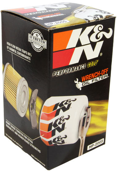 K&N VW/Audi Performance Gold Oil Filter