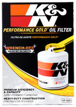Load image into Gallery viewer, K&N Oil Filter OIL FILTER; RACING, 4-5/8inOD, 6-11/16inH