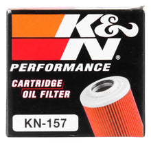 Load image into Gallery viewer, K&N Oil Filter 1.625in OD x 2.063in H for 99-07 KTM 250/400/450/520/525/540/625/660/690 (2nd Filter)