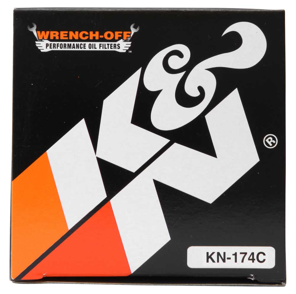 K&N Oil Filter 02-10 Harley Davidson VRSC 3in OD x 3.844in Height