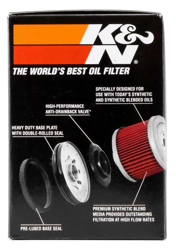 K&N Polaris 2.688in OD x 3.813in H Oil Filter