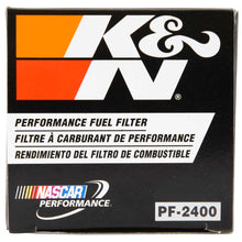 Load image into Gallery viewer, K&N 93-96 Chevy Caprice 4.3L / 5.7L, 04-05 Chevy Colorado 2.8L / 3.5L Fuel Filter