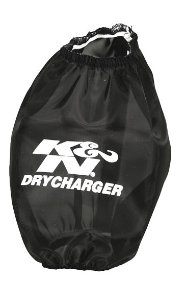 K&N Air Filter Drycharger Wrap Black 7in x 4in