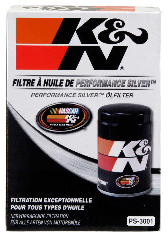 K&N Oil Filter for Ford/Audi/VW/Toyota/Mercury/Mazda/Nissan/Dodge/Lincoln/Volvo 3.656in OD