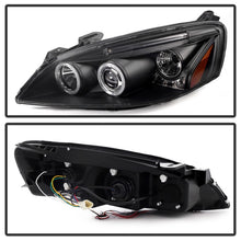 Load image into Gallery viewer, Spyder Pontiac G6 2/4DR 05-08 Projector Headlights LED Halo LED Blk PRO-YD-PG605-HL-BK