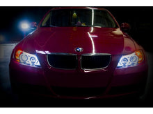 Load image into Gallery viewer, Spyder BMW E90 3-Series 06-08 4DR Projector CCFL Halo - Eyebrow Bulb Blk- PRO-YD-BMWE9005-CCFL-BK