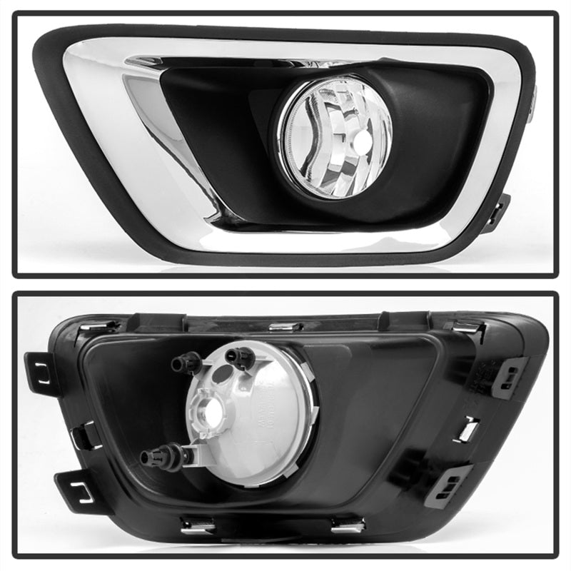 Spyder Chevy Colorado 2015-2017 OEM Fog Lights w/switch - Clear FL-CCOL15-C