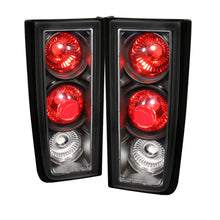 Load image into Gallery viewer, Spyder Hummer H2 01-05 (Non H2T)Euro Style Tail Lights Black ALT-YD-HH2-BK