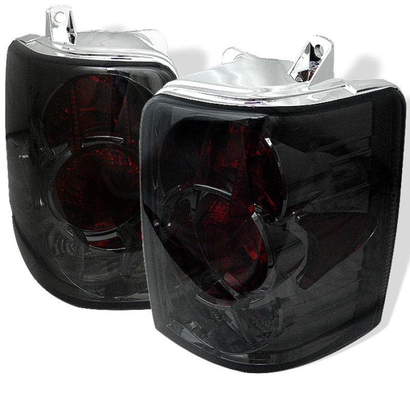 Spyder Jeep Grand Cherokee 93-98 Euro Style Tail Lights Smoke ALT-YD-JGC93-SM