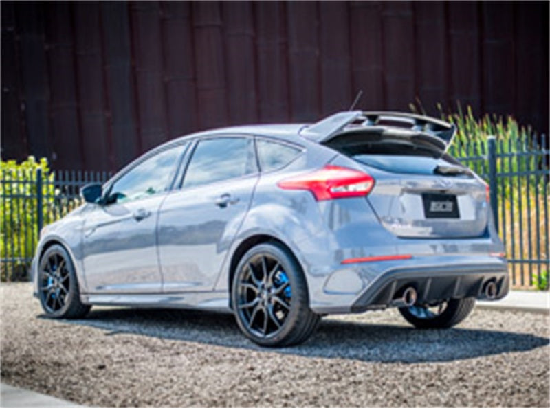 Borla 2016 Ford Focus RS Turbo 2.3L S-Type Catback Exhaust 4in Tips Single Split Rear Exit