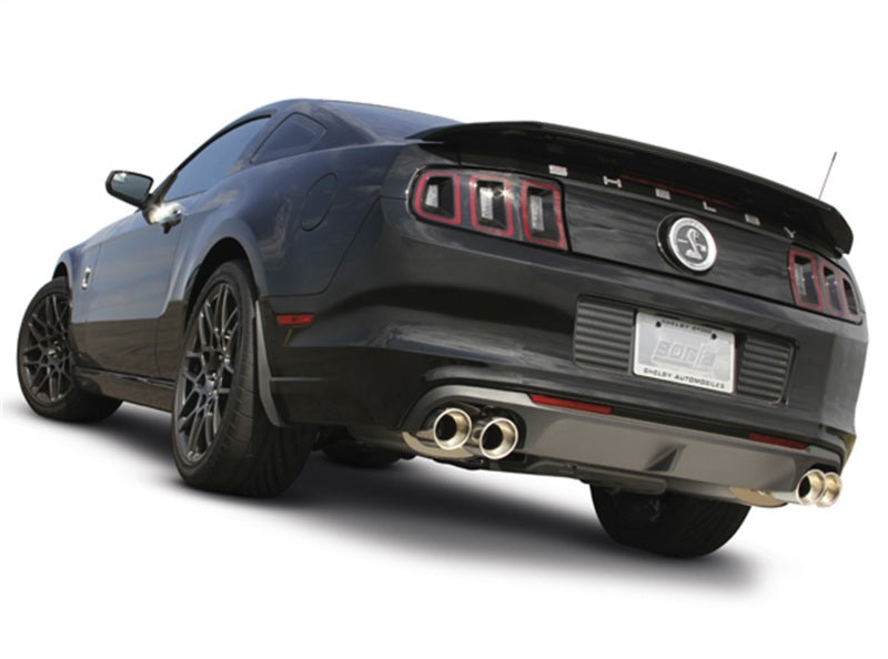 Borla 13-14 Ford Mustang Shelby GT500 Coupe 2dr 5.8L 8cyl MT 6spd RWD ATAK SS Catback Exhaust