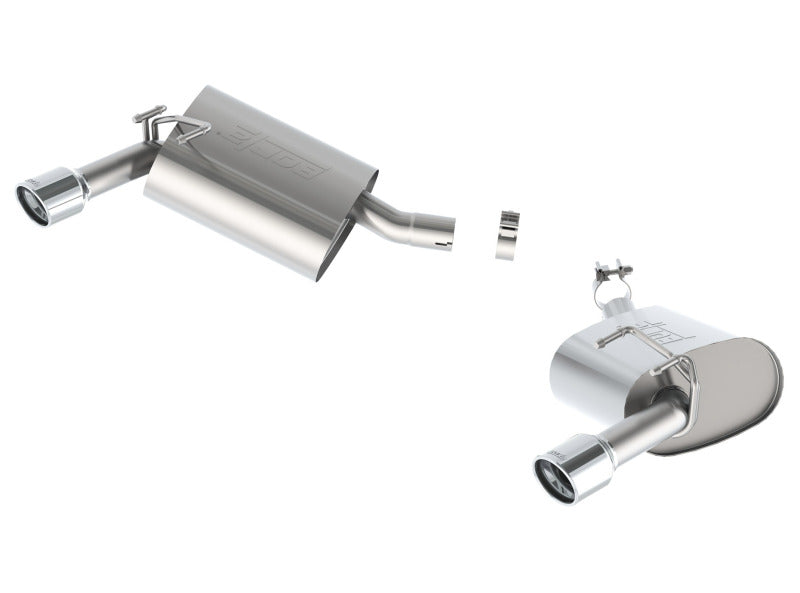 Borla 14-15 Chevy Camaro 3.6L V6 RWD Single Split Rr Exit Touring Exhaust (rear section only)